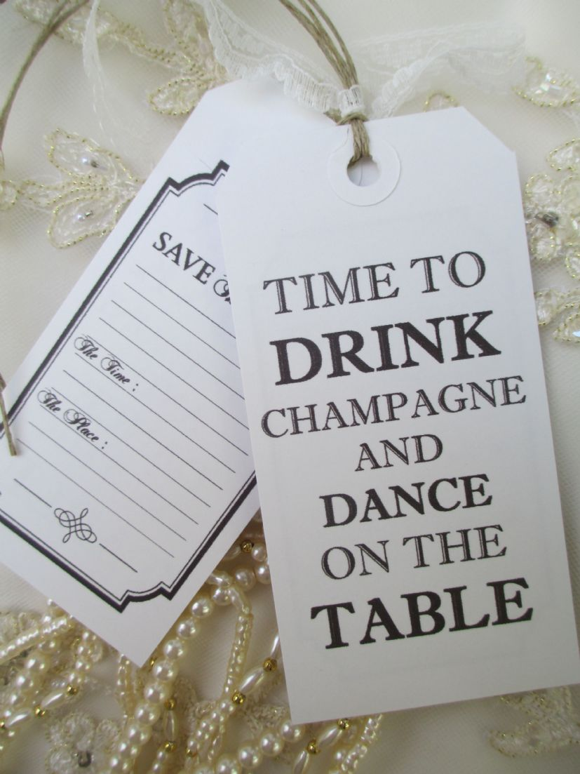 50 save the date time to drink champagne  u0026 dance on the
